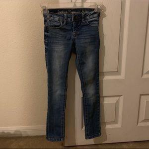 Girls skinny jeans